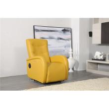 Sofá de sala com sofá de couro genuíno moderno (411)