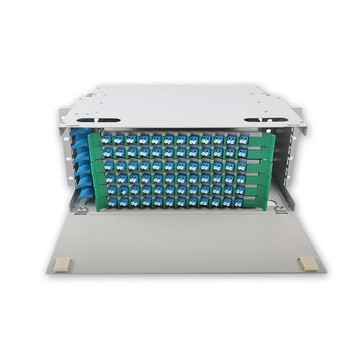 96 Port Serat Optik Patch Panel ODF
