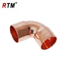 J18 90 graus CxC ou CxF encaixe de cotovelo fornecimento de ar condicionado acessórios de cobre