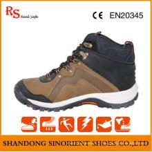 Chaussures de sécurité de randonnée de marque bon marché de Fmous avec l'orteil en acier RS738