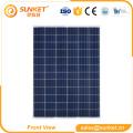 Module solaire photovoltaïque poly 140 watts comparé à Talesun