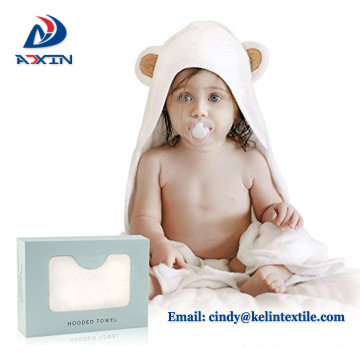 Extra soft 600gsm 100% bamboo for newborn and kids gift hooded baby towel
