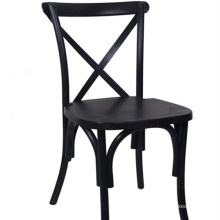 Black Crossback Chair for Restaurant