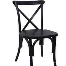 Черный стул Крестоносцах для ресторана