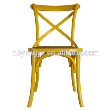 Cixi yongye party wedding resin cross back chair