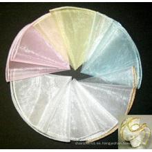 """Ronda 28 """"círculo de organza de diámetro para la decoración de la boda"""