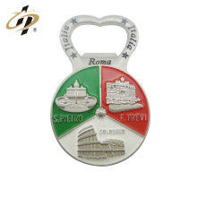 Cheap wholesale roma souvenir gift zinc alloy custom wine bottle opener