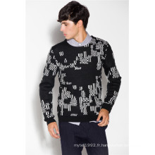 Warm Wool Blend Rond Neck Knit Men Tricots