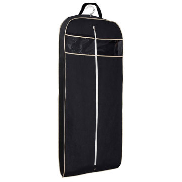 Miljövänlig Quilted Dress Mesh Garment Packing Bag