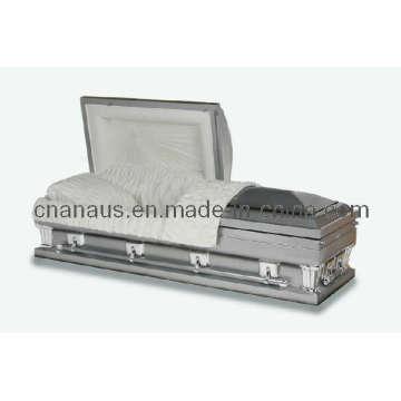 Estilo americano Oversize 18 Ga aço caixão (18H 1073)