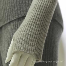2017 Classique Printemps hiver long bras manchon gants sans doigts en tricot