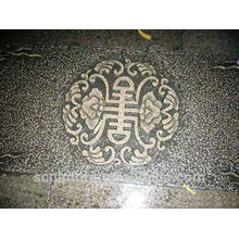 Chinese custom ground relief for garden decoration