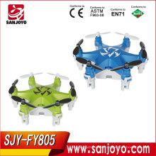 SJY-FY805 Más Nuevo Control Remoto Drone Rc Girar 360 Grados Juguetes Para Niños RC Drone 3 Ejes Cardán Quadcopter