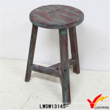 Reclaimed Country Shabby Chic 3 Leg Wooden Stool