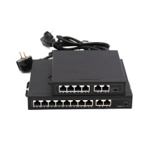 DC48-52V 96W 10pots commutateur poe gigabit