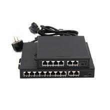 DC48-52V 96W 10pots gigabit poe switch