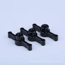 Aluminum plastic pipe clamps