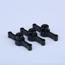 Abrazaderas de tubo de plástico de aluminio