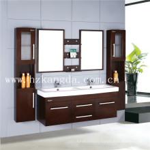 Cabinet de salle de bain en bois massif / vanité de salle de bain en bois massif (KD-401)