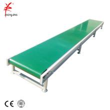Transportador de correa de luz horizontal horizontal de rodillo loco