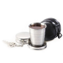 Stainless Steel Collapsible/Folding/Pulldown/Travel/Water/Telescopic Cup