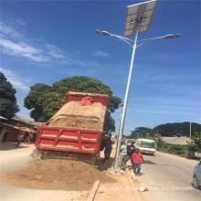 Pólo claro de rua solar do diodo emissor de luz 6-12meters