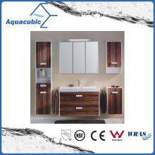 Wall-Mounted Bathroom Vanity Combo in Chocolate Oak Finish (ACF8912)