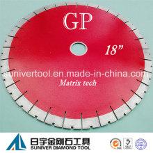 """Gp 18""""*25mm Diamond Cutting Discs, Diamond Blades for Granite, Quartzite"""
