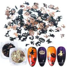 3D Metal Halloween Nail Accessories Art Decorations Nail Art Halloween Nail Decoration