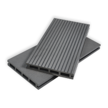 New generation waterproof black plastic decking