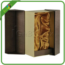 High Quality Leather Wine Shipping Gift Boxes