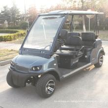 Carro de golf legal de la calle eléctrica de la fábrica de China con EEC (DG-LSV4)