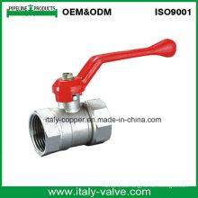 Válvula de bola de cobre amarillo del reductor de la garantía de calidad de 5 años / Válvula de reducción (AV1024)