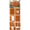 Interior Red Cedar Wooden Window Louver Shutters