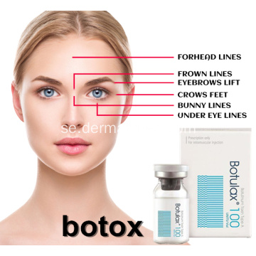 Anti Wrinkle 100 Units Skriv in en Meditoxin Botulax
