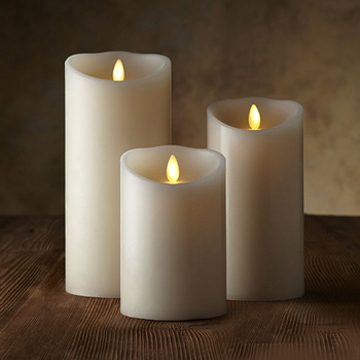 moving wick led candles
