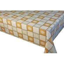 Housses de table ajustées imprimées en pvc Draps et serviettes