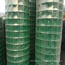 Tela de arame holandesa revestida com PVC