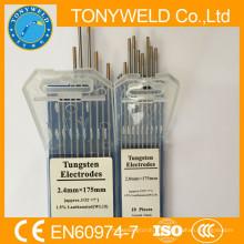 Oro 1.6 * 175mm WT20 TIG electrodo de tungsteno