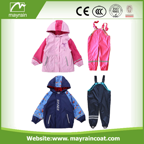 Colorful Kids Rainsuits