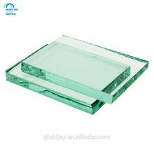 preço do vidro de flutuador, folha do vidro de flutuador claro do edifício de 15mm 19mm