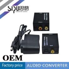 SIPU Digital para áudio analógico conversor dc 12v para 6v conversor de poder de mídia