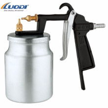 Portable  spray gun for paint