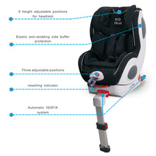 Baby-Autositz mit automatischem Isofix-System