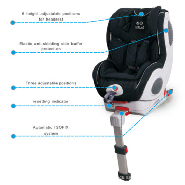 Baby Car Seat with Automatic Isofix System