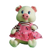Plush  Toys  pig  Waddles Soft Stuffed Animal Doll Cute Cartoon wear strap figure toys Girls Boys Birthday Gift