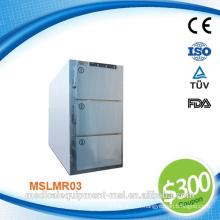 Réfrigérateur professionnel de corps mort pour hôpitaux et réfrigérateur corps mortuaire avec compresseur allemand DANFOSS MSLMR03