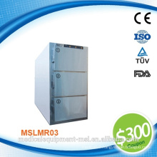 Professional hospital dead body refrigerator & mortuary body refrigerator with Germany DANFOSS compressor MSLMR03