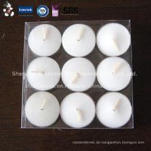 China Großhandel weiße Teelicht Kerze