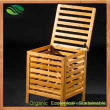 Bamboo Toy Box Lockers Bamboo Benches Laundry Bin (EB-B4098)
